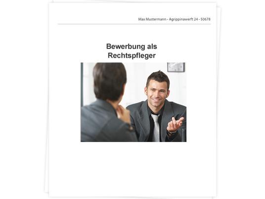 Rechtspfleger Bewerbung - Tipps zu Anschreiben und Lebenslauf