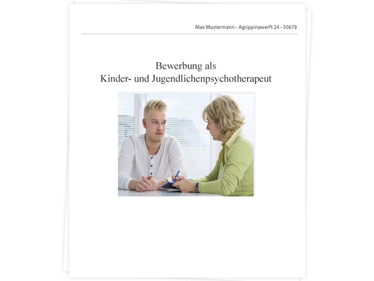 kinder und jugendlichenpsychotherapeutin bewerbung tipps zu anschreiben lebenslauf und vorstellungsgesprch