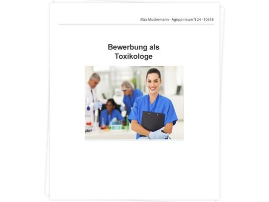 Toxikologe Bewerbung - Tipps zu Anschreiben, Lebenslauf und ...