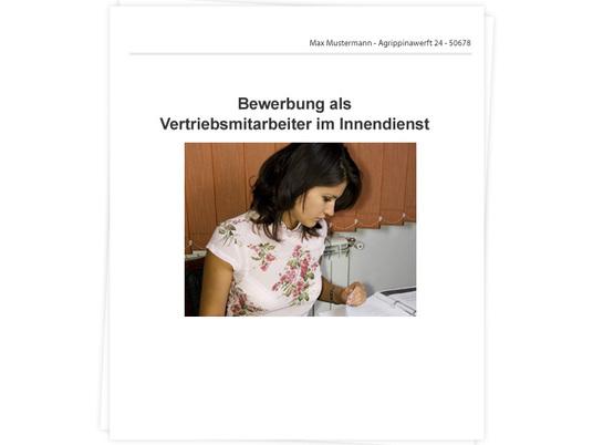 Vertriebsmitarbeiter/in im Innendienst Bewerbung - Tipps zu ...