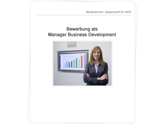 Managerin Business Development Bewerbung Tipps Zu Anschreiben