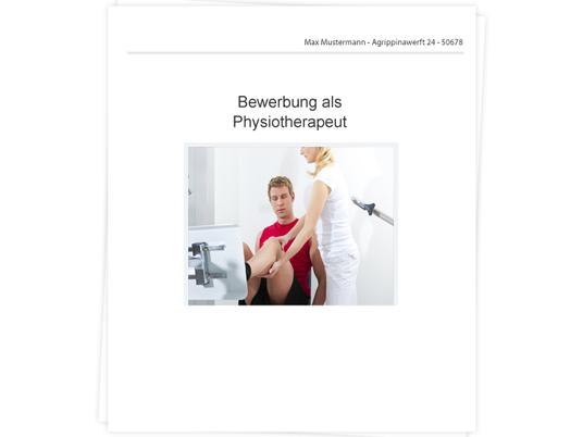 Physiotherapeut Bewerbung - Tipps zu Anschreiben, Lebenslauf und ...