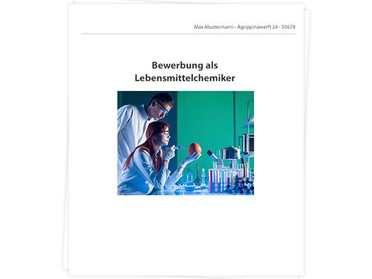 Lebensmittelchemiker Bewerbung - Tipps zu Anschreiben und Lebenslauf
