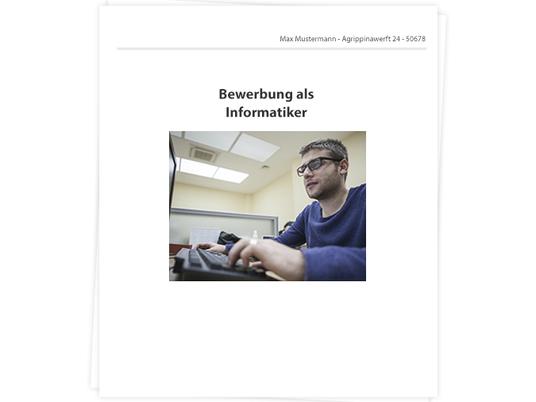 informatiker bewerbung tipps zu anschreiben und lebenslauf - Bewerbung Informatiker