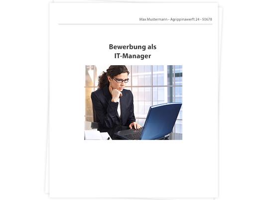 It Manager Bewerbung Tipps Zu Anschreiben Und Lebenslauf